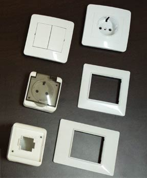 Plastic Electrical Parts Exporter, Supplier